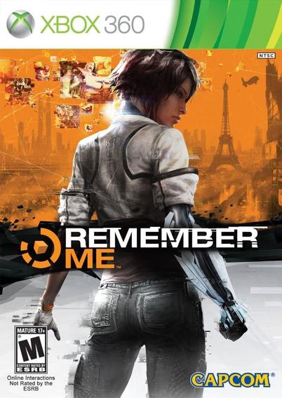 Jogo Remember Me Xbox Original Novo E Lacrado