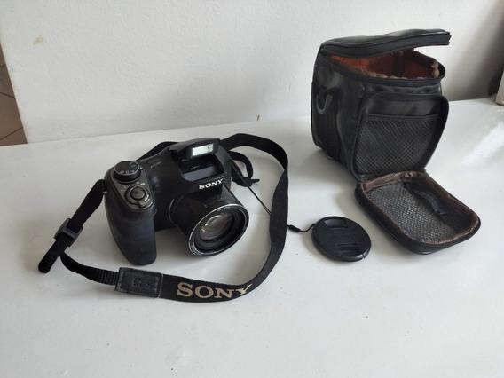Camera Semi Profissional Sony Cyber Shot H200