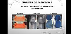 Limpieza De Tapicerias De Vehículos, Hogares Y Comercios.