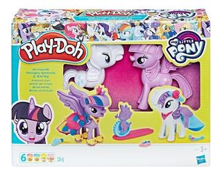 Play Doh Moda Divertida Twilight Y Rarity My Little Pony