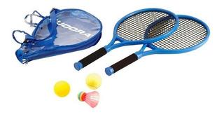 Set Tenis + Badminton Raquetas Playa Niños 75004