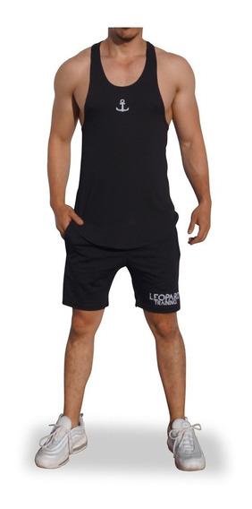 Playera John Leopard Gym Tank Stringer Envío Gratis Gimnasio