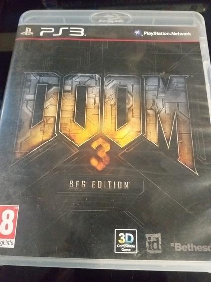Doom 3 Bfg Edition Ps3 Mídia Física