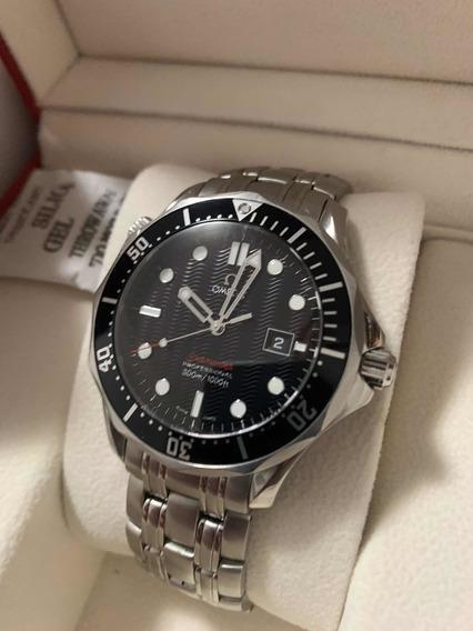 Relógio Ômega Seamaster Diver 300m (zero E Completo) 41mm