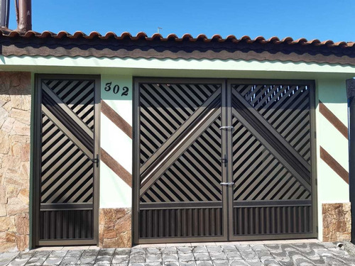 Linda Casa 2 Dormitórios 3 Vagas Vila Caiçara Praia Grande