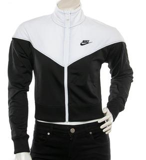 Pera hacha Dramaturgo  Campera Nike Blanca Con Negro | MercadoLibre.com.ar
