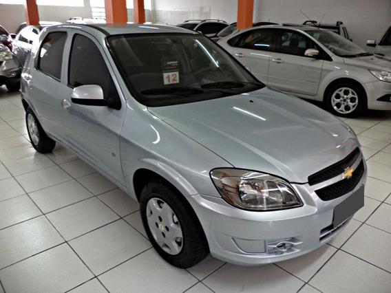 Chevrolet Celta 1.0 Mpfi Lt 8v Flex 2012 Prateado.