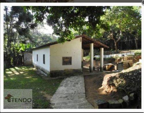 Imagem 1 de 15 de Imob03 - Chácara 3850 M² - Venda - 2 Dormitórios - Quarta Divisão - Ribeirão Pires/sp - Ch0080
