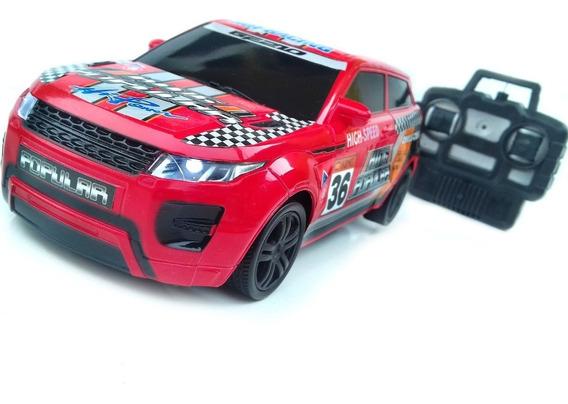 Carrinho Controle Remoto Land Rover 4 Canais Acende Farol