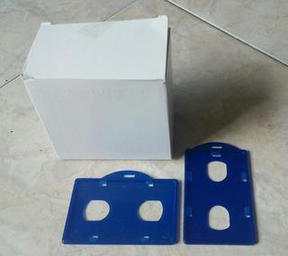 Portacarnet Vertical Y Horizontal Color Azul Rey