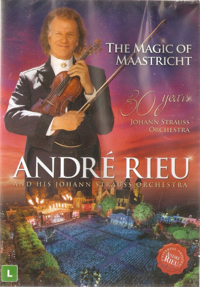 Dvd Andre Rieu - The Magic Of Maastricth - Novo Lacrado***