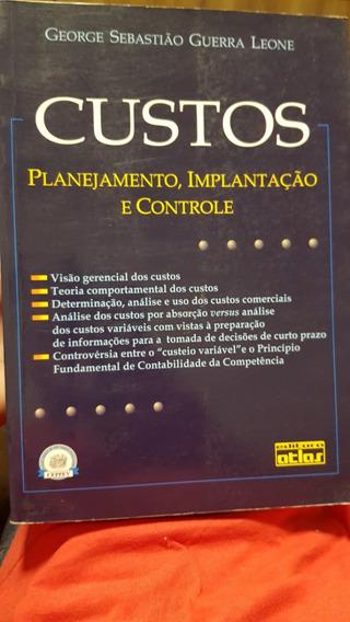 Livro Contabilidade De Custos Planejamento Implantação