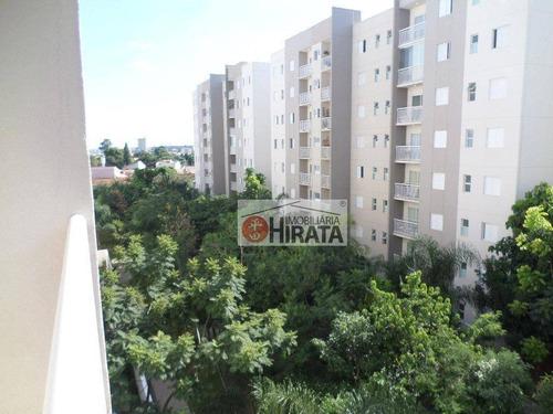 Apartamento Com 3 Dormitórios À Venda, 69 M² Por R$ 435.000 - Morumbi - Paulínia/sp - Ap2288