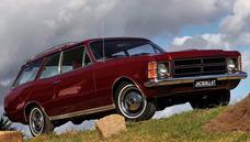 Chevrolet Opala Caravan Chateau 1979 4 Cil, Espetacular!