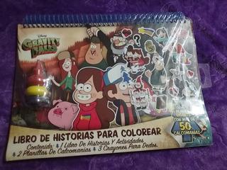 Libro De Historias Para Colorear Gravity Falls