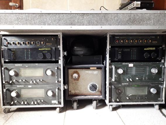 Amplificador A-1 Gradiente Bom Estado De Uso.