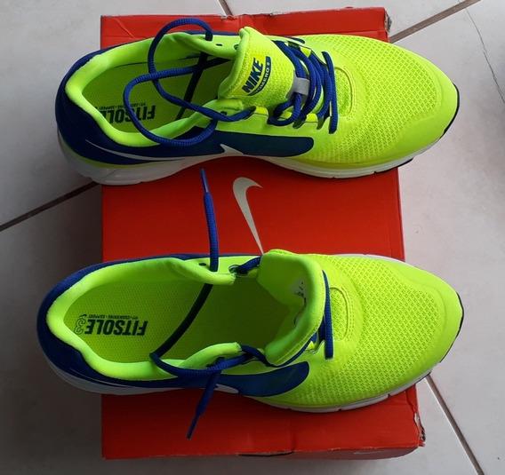 Tênis Nike Original Tamanho 42 Nike Zoom Verde E Azul