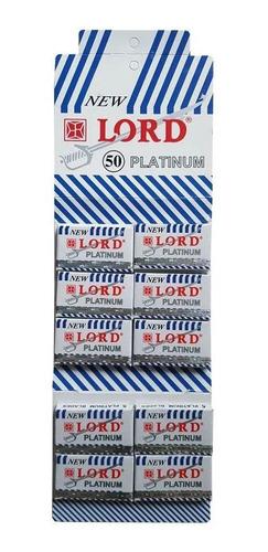 Imagem 1 de 3 de 10 Cartelas Lord Platinum - 500 Lâminas