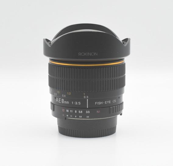 Rokinon 8mm 1:3.5 Para Nikon