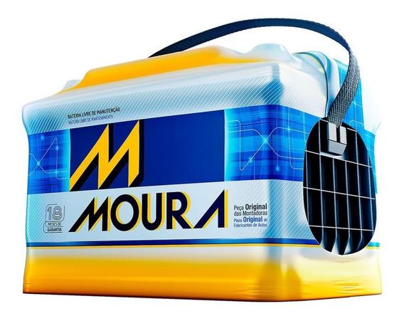 Bateria De Carro Moura 60ah Sandero / Logan Renault M60gd