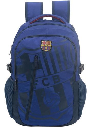 Imagem 1 de 3 de Mochila De Costas Esportiva Barcelona Fcb Blue B04