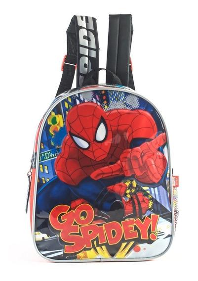 Mochila Escolar De Espalda Jardin Spiderman Go Spidey , 12