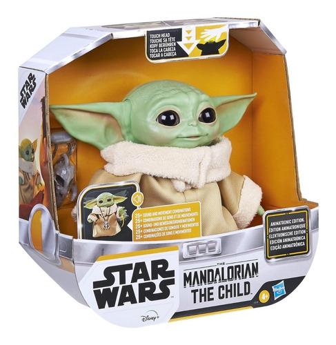 Baby Yoda Animatronico, Con Gestos Y Sonidos. Original