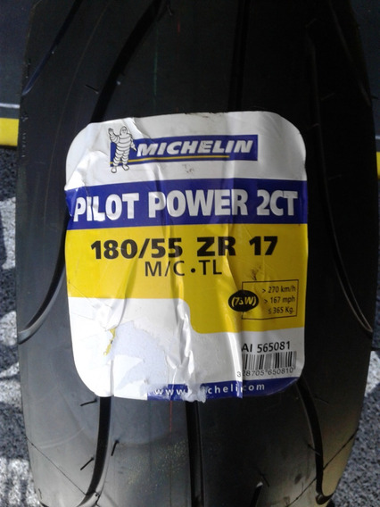 Pneu Traseiro Power 2ct 180/55-17 Michelin Original