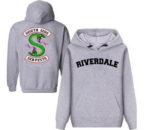Blusa Moletom Riverdale Serpentes Casaco Série Mega Oferta