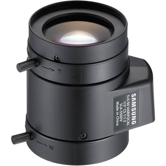 Lente Varifocal 50mm Samsung Sla-550dv Box*