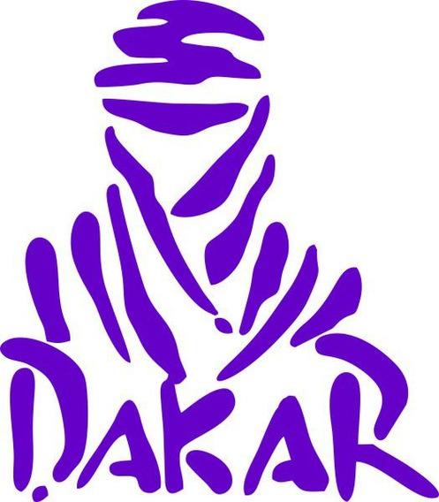 Adesivo Dakar - Várias Cores - Alta Qualidade - Vinilstudio