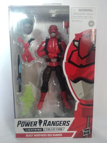 Beast Morphers Red Ranger Power Rangers Hasbro