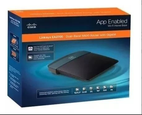 Roteador Wireless-n Linksys Ea2700 600mbps