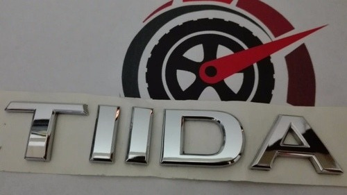 Imagen 1 de 5 de Emblema Tiida Nissan Original Pregunta Por Otros Emblemas