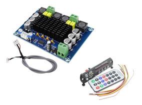 Amplificador Stéreo 240wrms + Módulo Bluetooth Usb/fm
