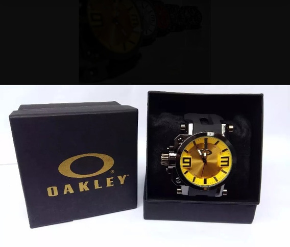 Relógio Oakley Gearbox Titanium Super Resistente