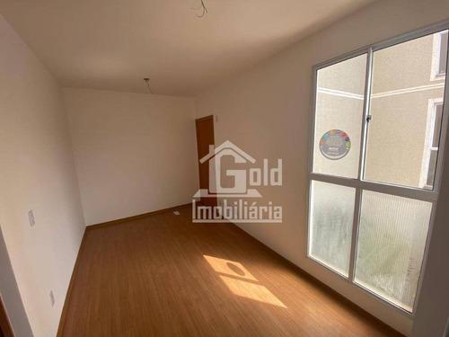 Apartamento Com 2 Dormitórios Para Alugar, 44 M² Por R$ 965,00/mês - Jardim Castelo Branco - Ribeirão Preto/sp - Ap3837