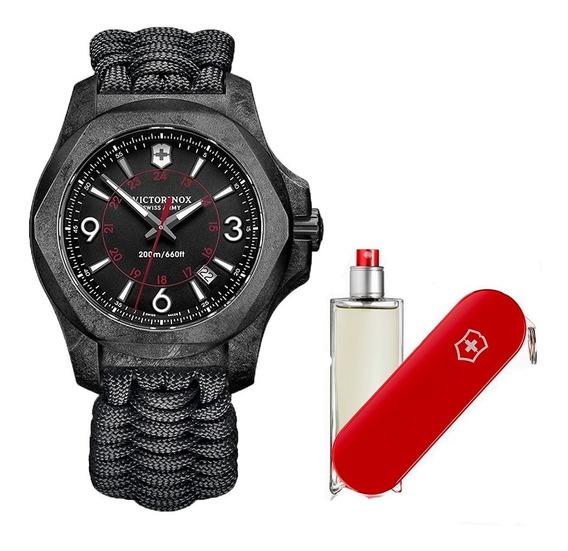 Reloj Victorinox Inox Carbon 241776 Paracord + Perfume 100ml