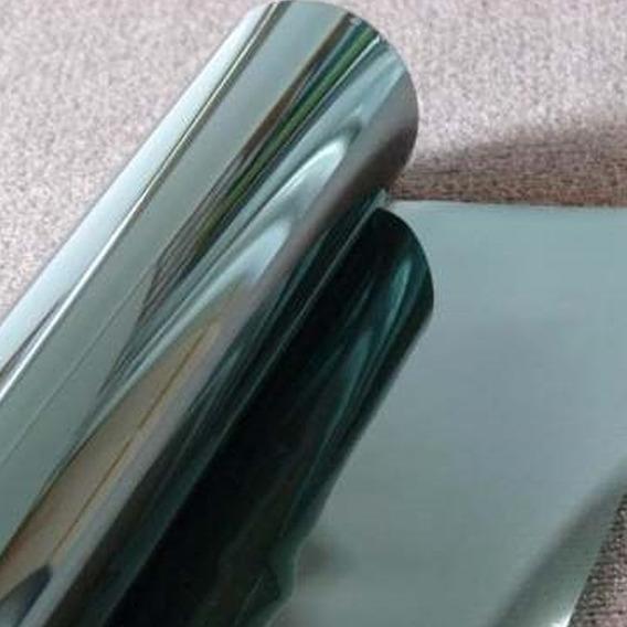 Insulfilm Titanium Verde G05 Vidros Portas Box 1,52m