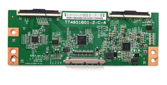 Placa T-con Tcl L49s4900fs L49s4900 Tt4851b01-2-c-4