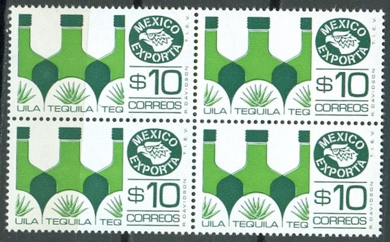 Sc 1125 Año 1975 Exporta 5 Serie Tequila 10p