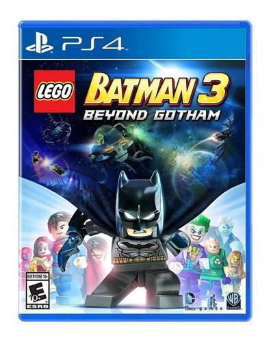 Imagen 1 de 6 de Lego Batman 3 Beyond Formato Físico Ps4 Original