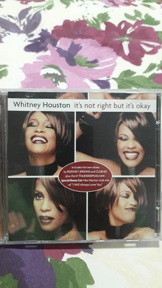 Single Whitney Houston (importado E Raro)