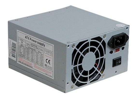Fonte Atx 400w 200w Real Bivolt Power Supply - Sem Cabo