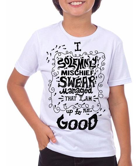Camiseta Infantil Harry Potter - Marauders Do Tam: 2 Ao 12