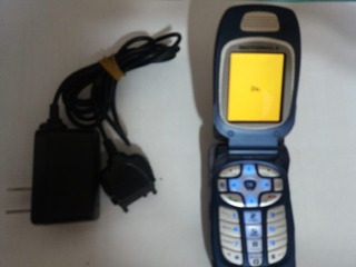 Aparelho Nextel I760 Flip Rádio Motorola Prata E Azul