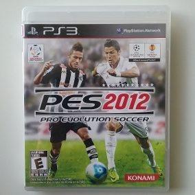 Pro Evolution Soccer Pes 2012 Jogo Ps3 Usado Mídia Física