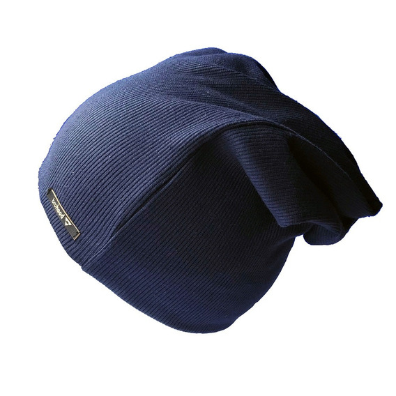 Gorro Beanie Brohood Canelado Azul