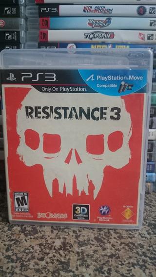 Resistance 3 Ps3 Midia Fisica-frete R$10