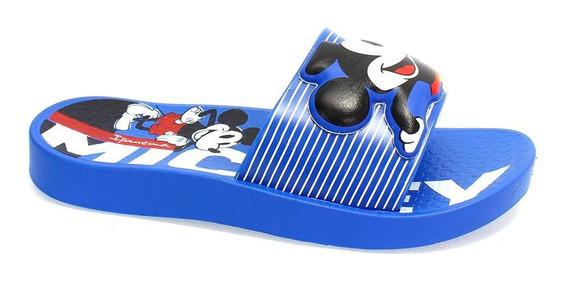 Chinelo Ipanema Mickey Azul Menino